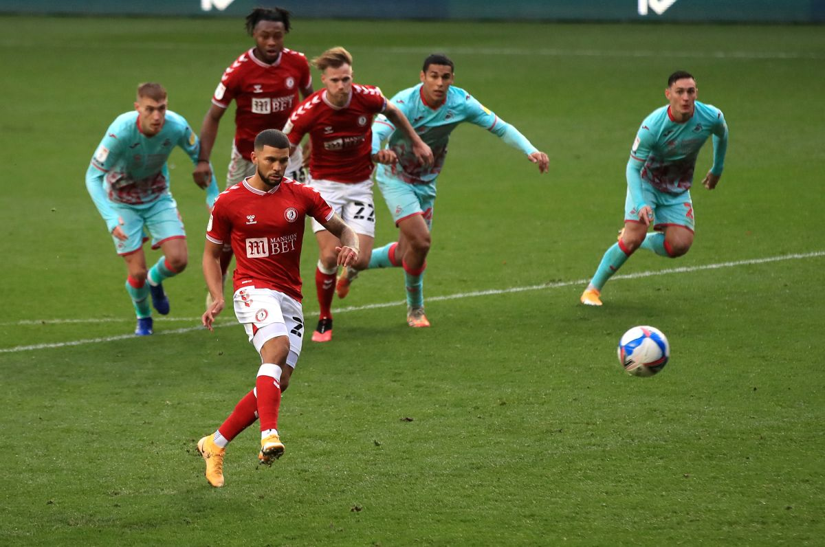 Nahki Wells seals point for Bristol City against Swansea
