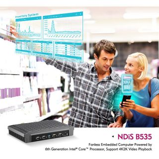 NEXCOM Digital Signage Player NDiS B535