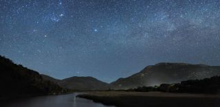 Tidal River in Wilsons Promontory, Victoria, counting stars