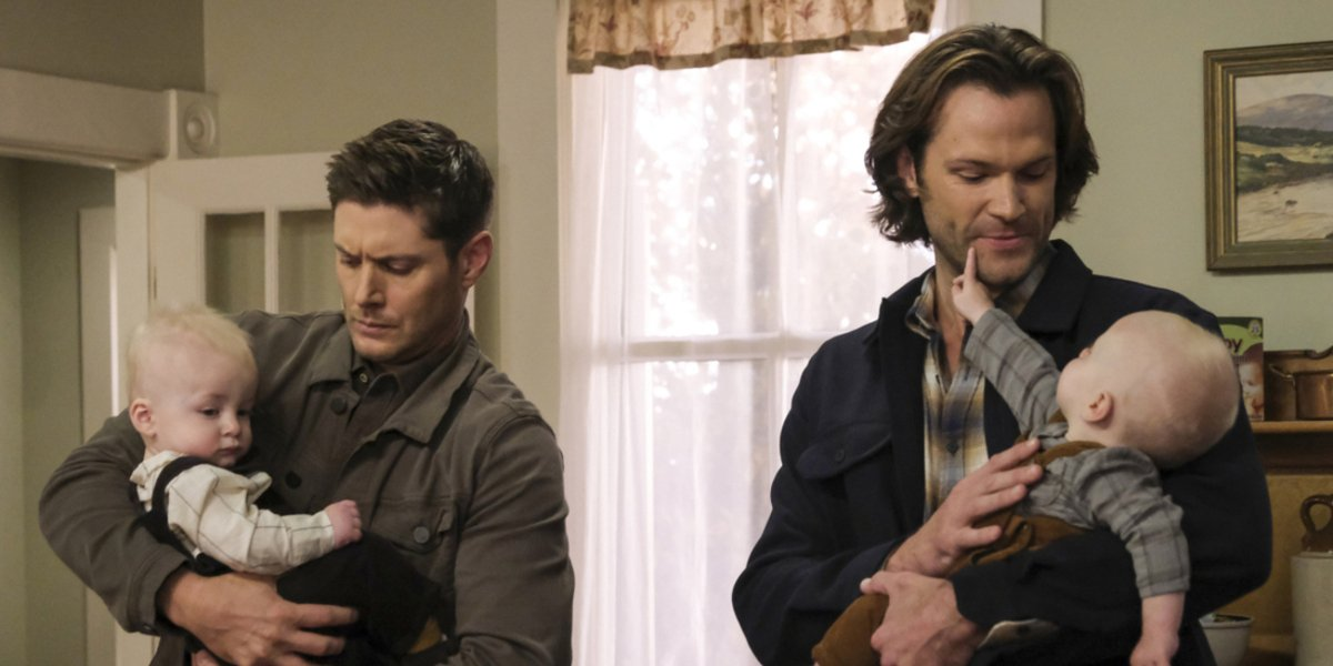 supernatural season 15 sam dean babies the cw