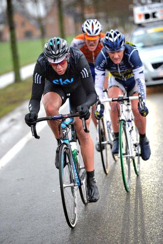 Ian Stannard escape, Kuurne-Brussels-Kuurne 2010