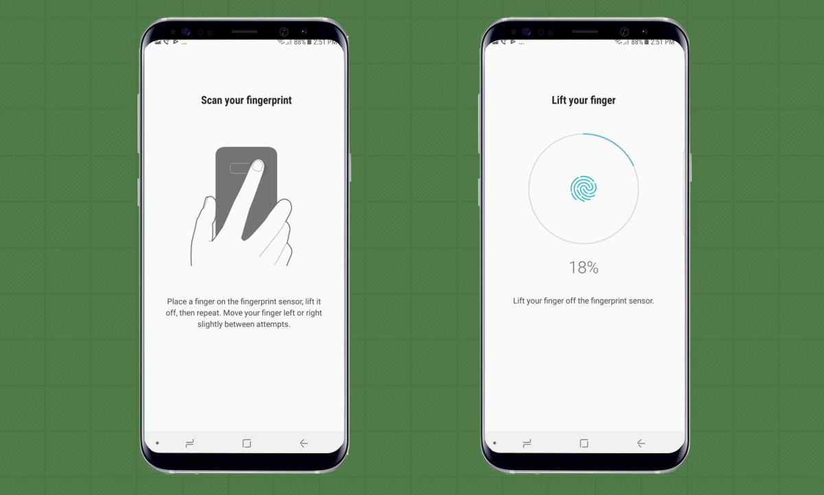 How to Set Up the Galaxy Note 8's Fingerprint Sensor   Tom's Guide