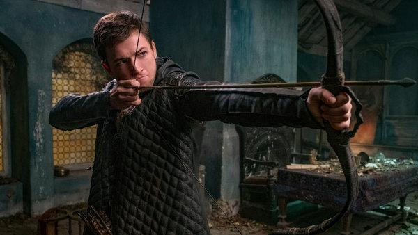 Robin Hood, with Taron Egerton