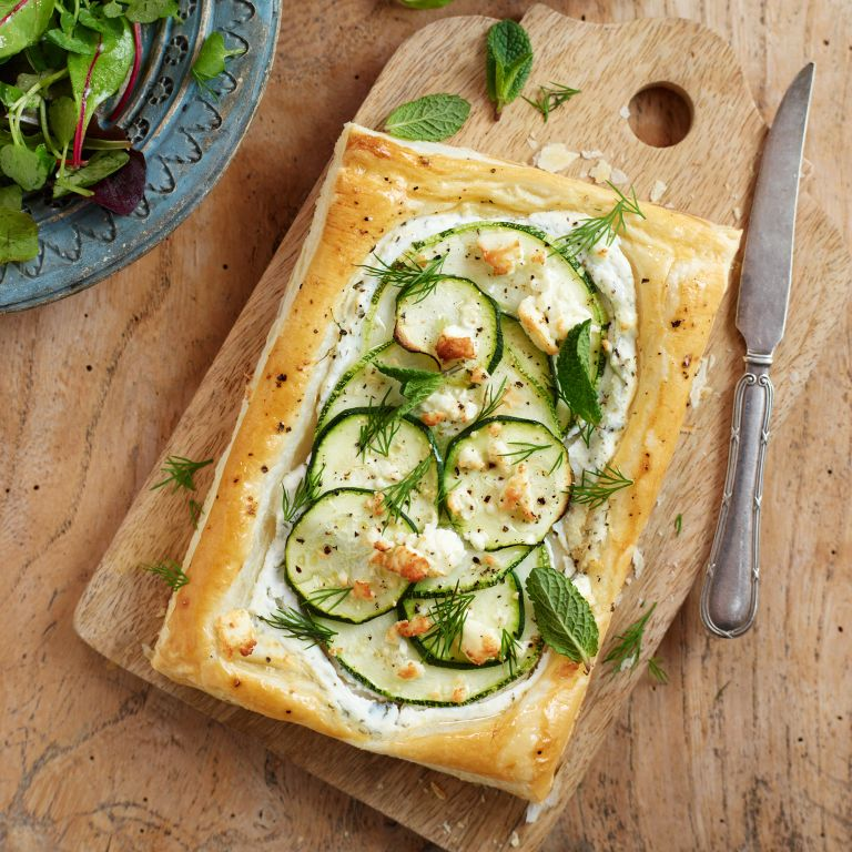 courgette-tart
