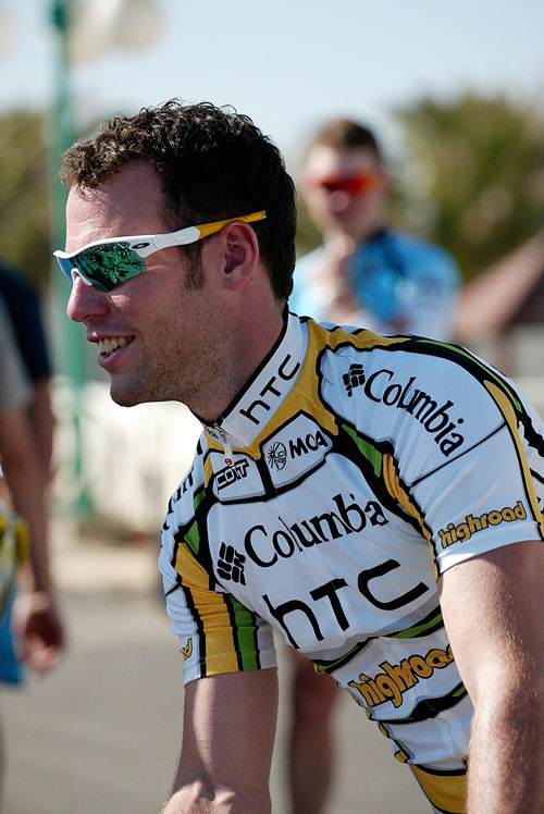 Mark Cavendish, Columbia HTC training, Lanzarote Dec 2009