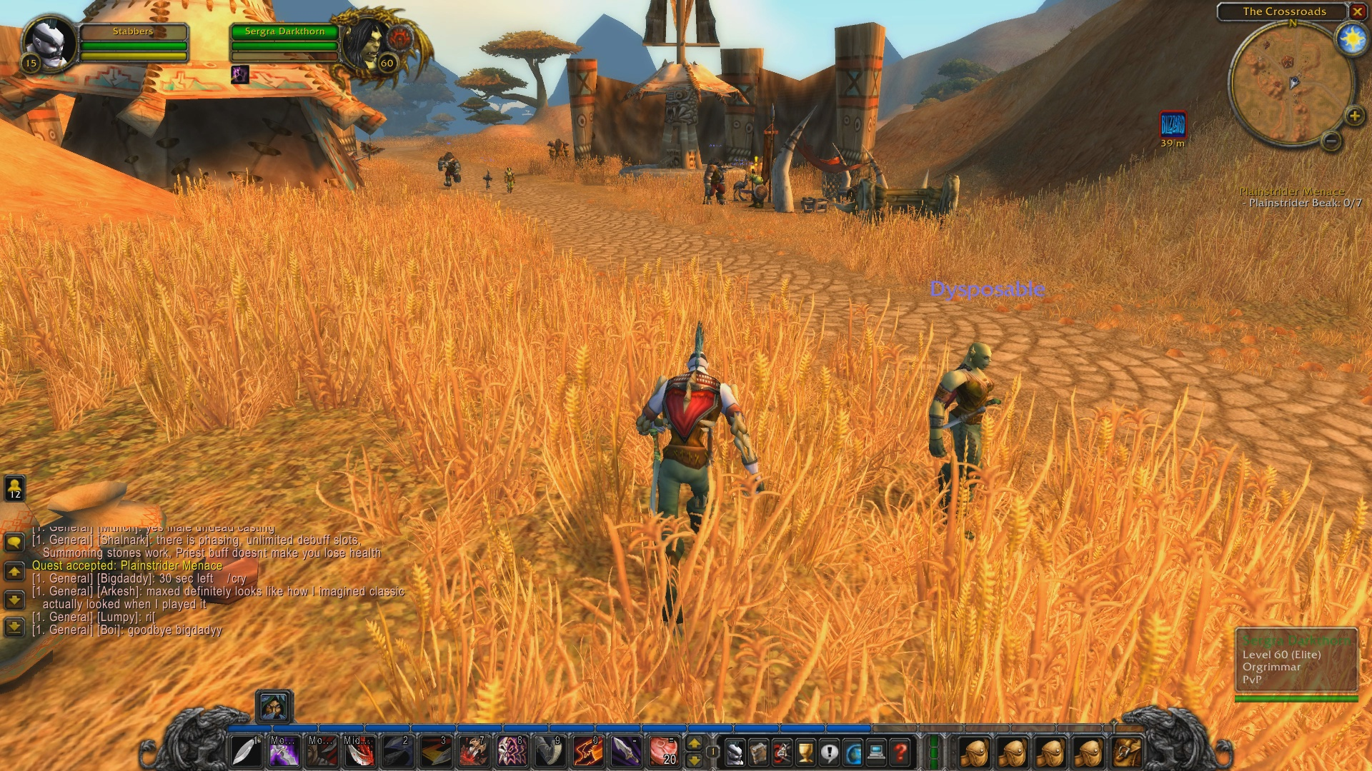 Turns out some of World of Warcraft: Classic's demo 'bugs' are not