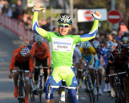 Peter Sagan wins, Paris-Nice 2010, stage five