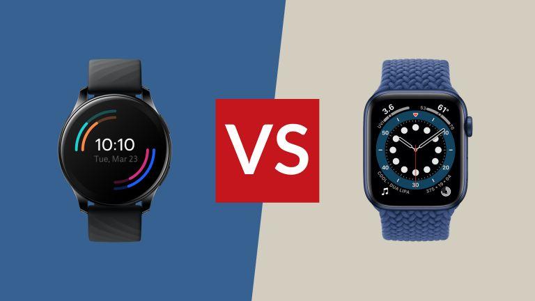 OnePlus Watch vs Apple Watch Series 6