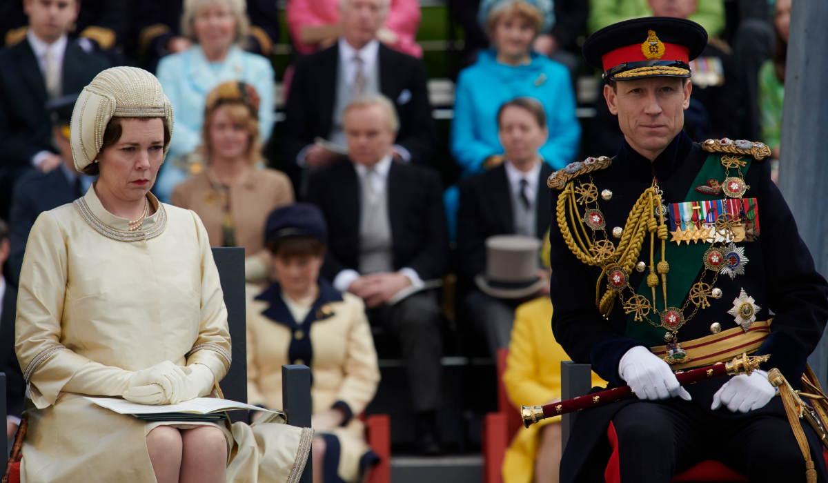 The Crown Oliva Colman Queen Elizabeth II Tobias Menzies Prince Philip Netflix