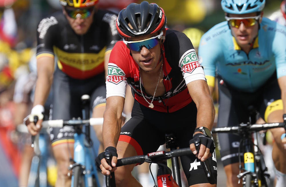 Richie porte out for at least four weeks with fractures for Richie porte tour de france