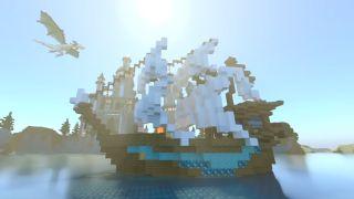 Minecraft RTX screenshot