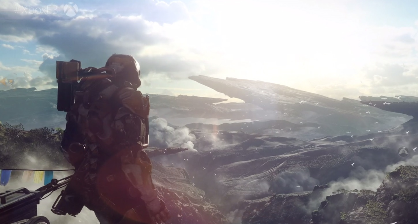 Anthem video shows eight minutes of freeplay mode