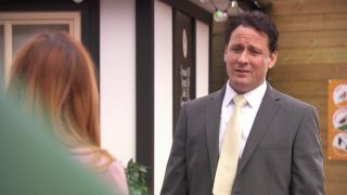 Tony Hutchison and Diane in Hollyoaks