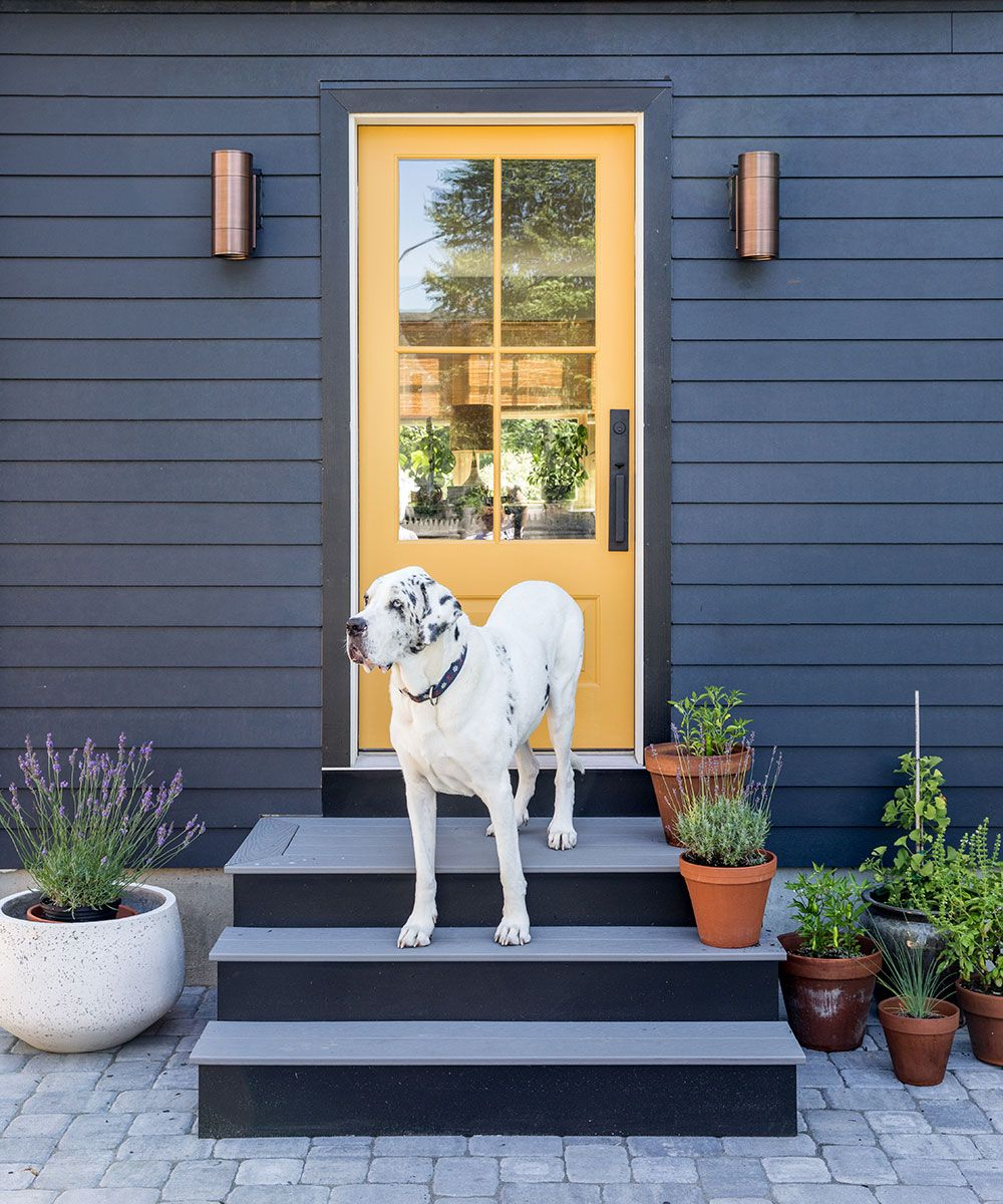 Take a look around this small, cosy home in New England, designed by Tyler Karu Design