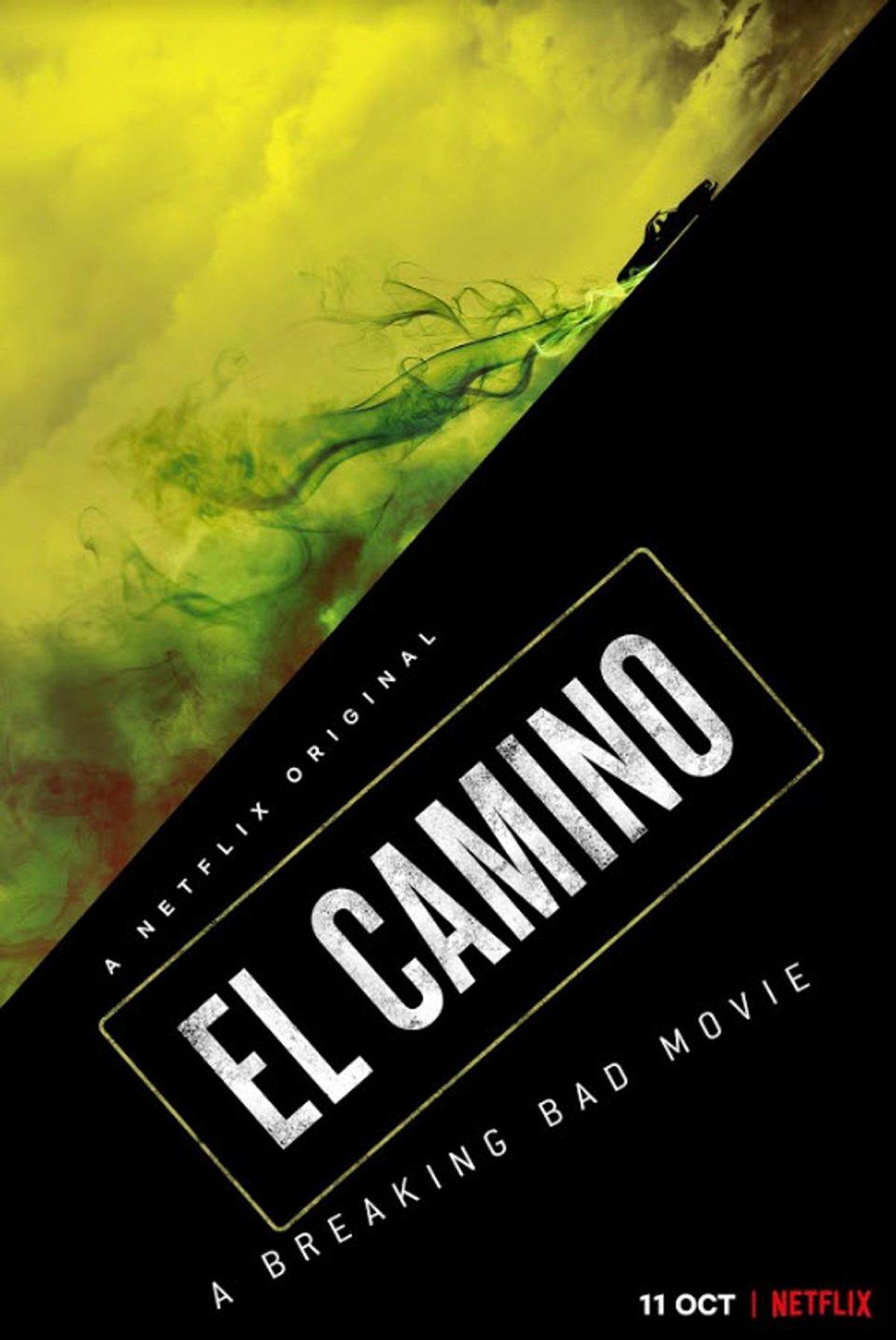 El Camino A Breaking Bad Movie poster Netflix