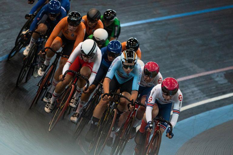 Omnium at the UCI Belgium Track Meet in Gent in April 2021