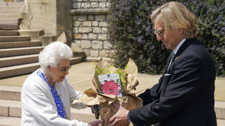 Duke of Edinburgh rose launched to commemorate Prince Philip