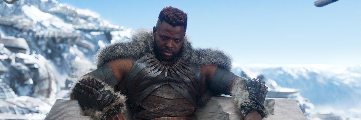 Winston Duke in Black Panther