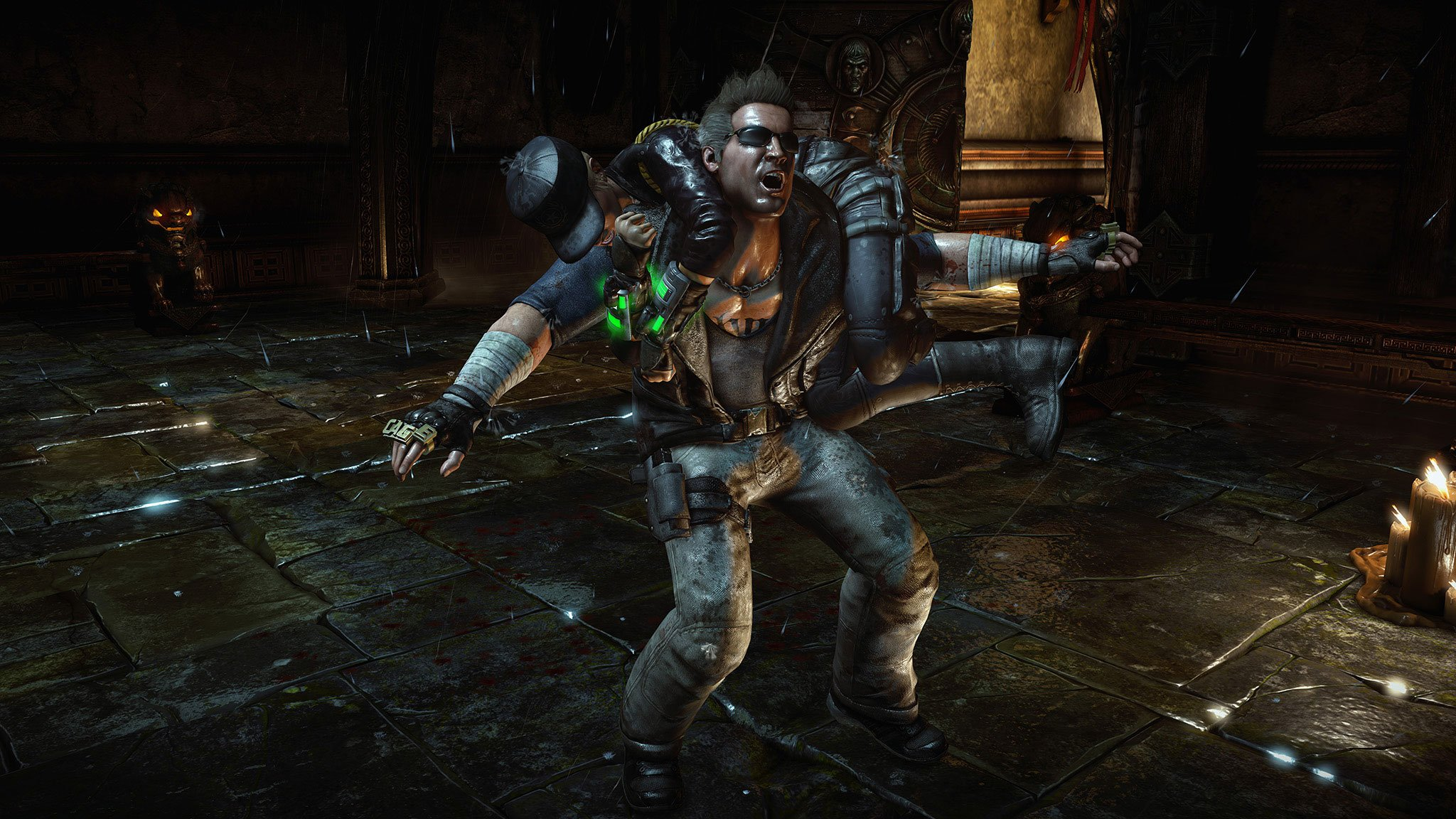Mortal Kombat X Johnny Cage And Sonya Blade Trailer Sneaks In A Third Character Reveal #32634