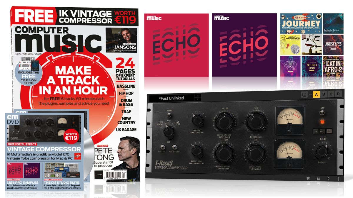 MAKE A TRACK IN AN HOUR - Computer Music Issue 280 is Out Now!