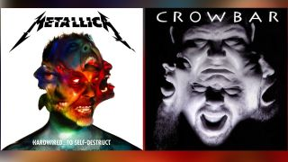 metallica and crowbar album covers