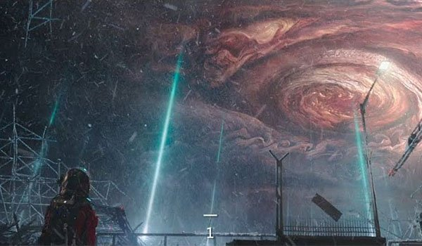Jupiter is close in The Wandering Earth