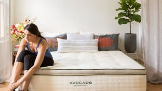 At $175 off this Prime Day, the Avocado Green mattress is budget and eco-friendly