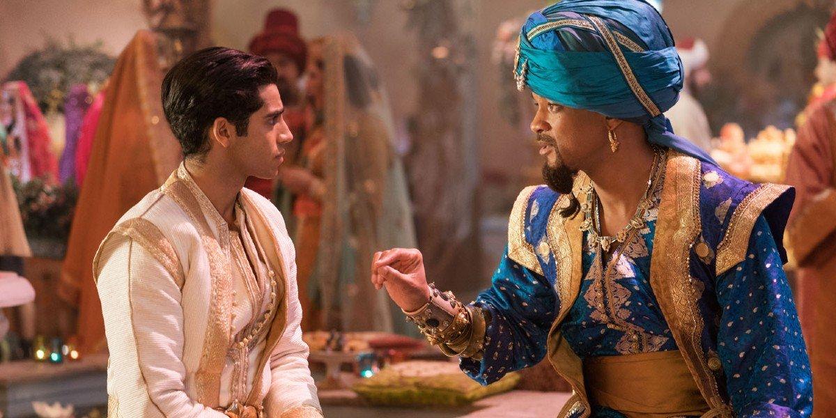 Mena Massound, Will Smith - Aladdin (2019)