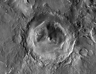 Gale Crater: Future Home of Mars Rover Curiosity