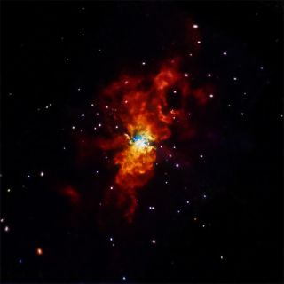 The supernova seen in X-ray