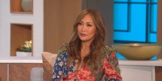 Carrie Anne Inaba talking about her new relationship on The Talk