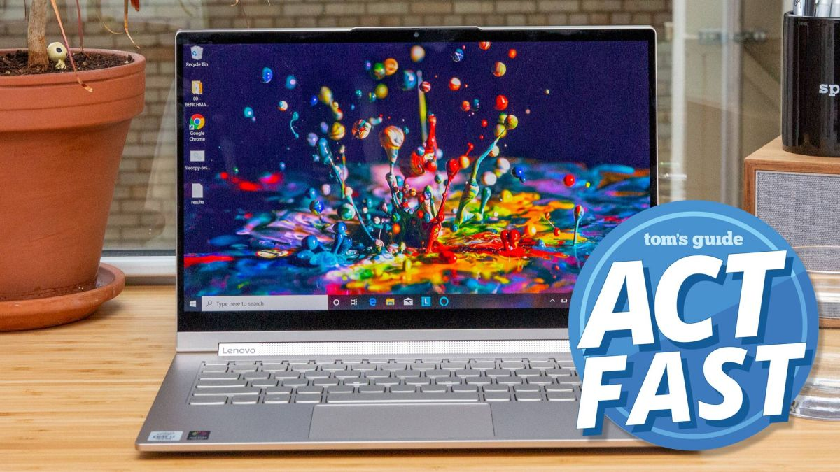 Laptop deal: Lenovo Yoga is $420 off and selling out fast