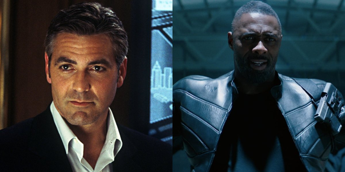 George Clooney and Idris Elba side by side