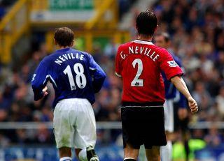 Gary, Phil Neville