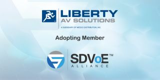 Liberty AV Solutions Joins SDVoE Alliance