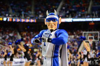 The Duke University Blue Devil at the ACC Tournament