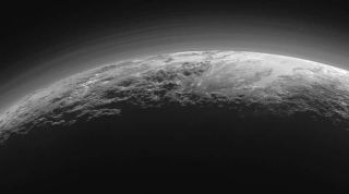 This image from New Horizons shows the dwarf planet Pluto in stunning detail.