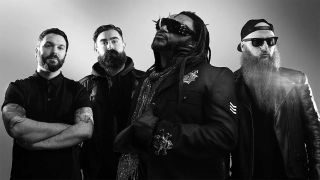 Skindred standing in a line