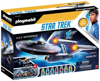 """Playmobil is launching an epic new replica of the USS Enterprise from """"Star Trek"""" on Sept. 8 to celebrate the 55th anniversary of the sci-fi franchise's TV debut."""