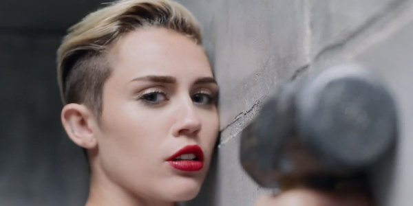 """Miley Cyrus """"Wrecking Ball"""" Music Video"""