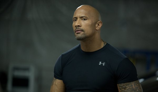 "Dwayne ""The Rock"" Johnson in Furious 7"