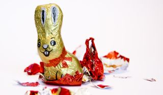The classic chocolate bunny is a top seller during the Lent/Easter season.