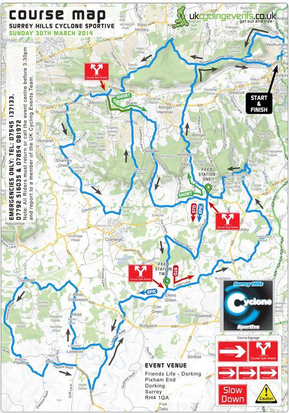 Cycling Weekly Surrey Hills Cyclone Sportive
