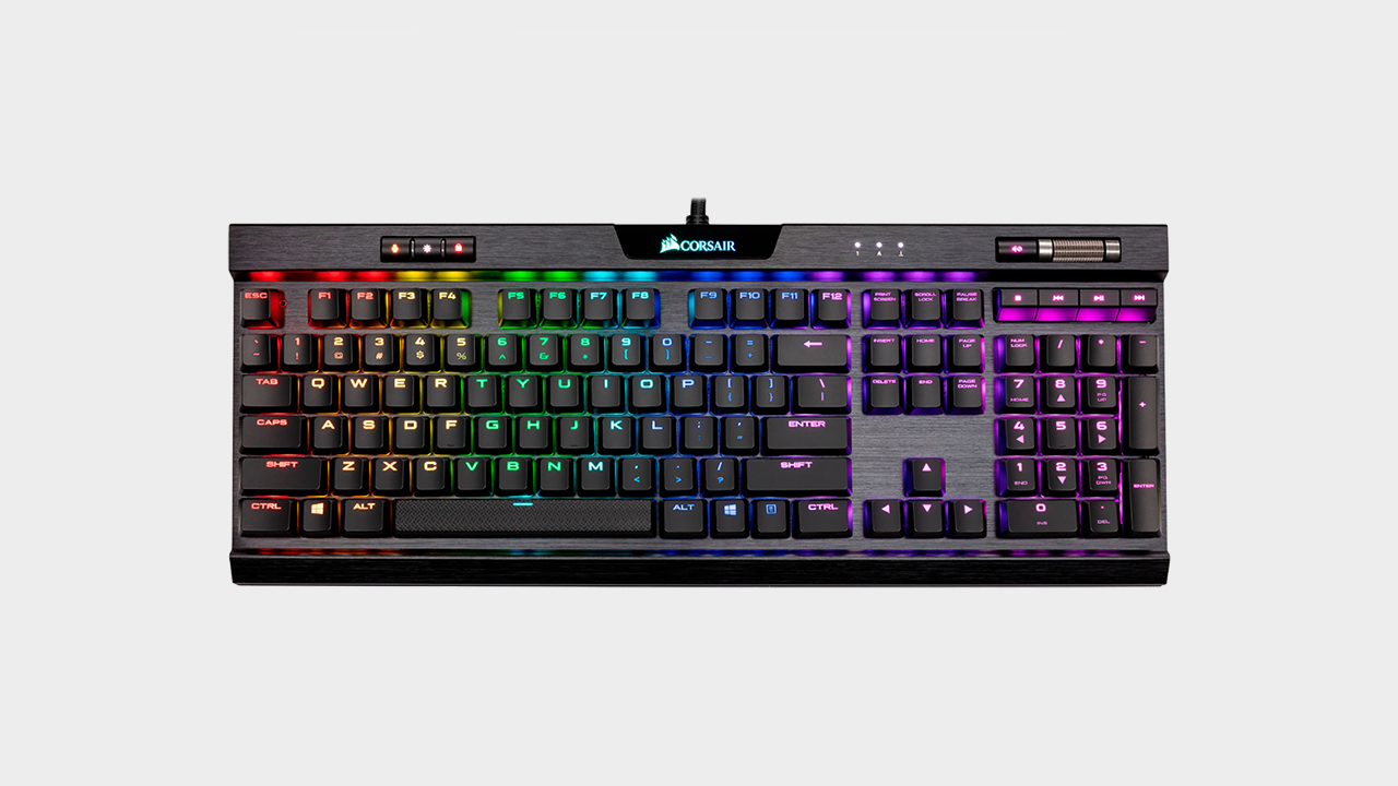 Save $65 on one of our favorite mechanical keyboards, the Corsair K70 MK.2