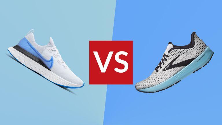 Nike React Infinity Run vs Brooks Hyperion Tempo