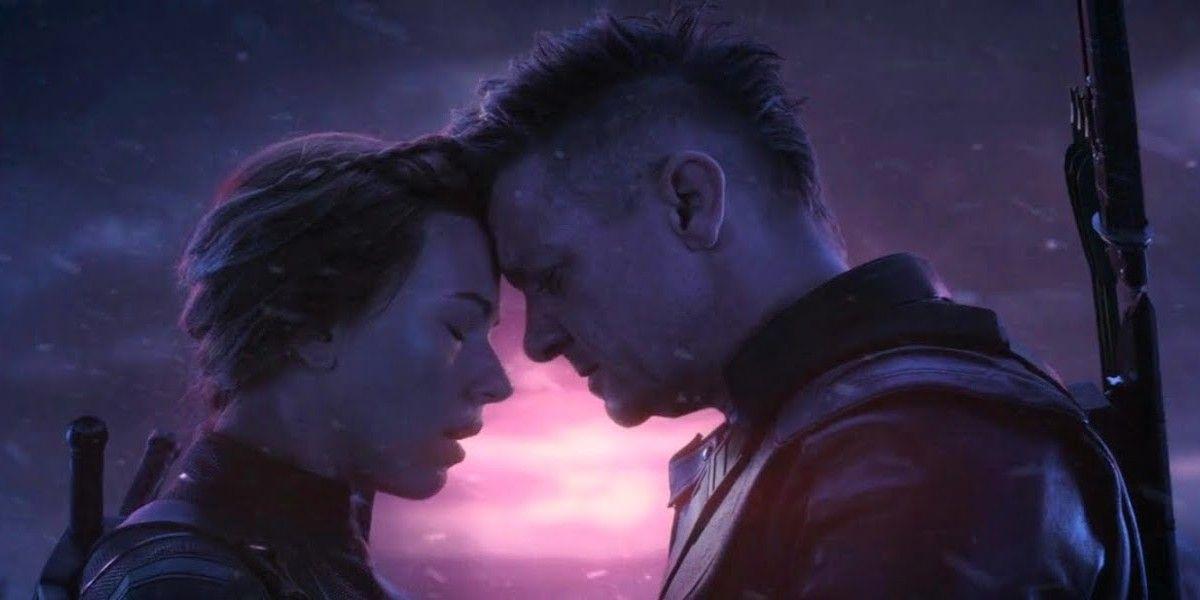 Black Widow and Hawkeye in Avengers Endgame