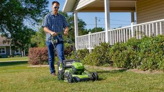 Save $200 on one of our favorite electric lawn mowers with this Home Depot deal