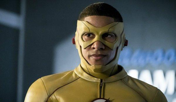keiynan lonsdale as Wally West The Flash Season 3