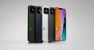 iPhone 12 Pro colors render