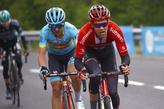 Sunweb's Tom Dumoulin at the 2019 Critérium du Dauphiné